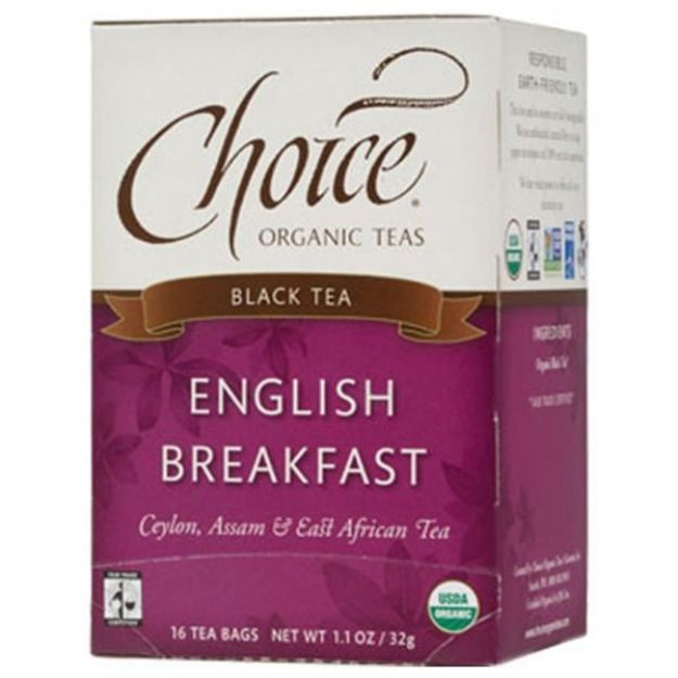 English Breakfast Tea (16 tea bags - Choice Teas)