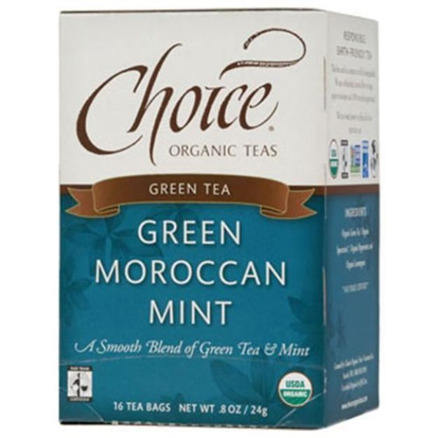 Green Moroccan Mint Tea (16 tea bags - Choice Teas)