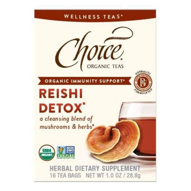 Reishi Detox Tea (16 tea bags - Choice Teas)