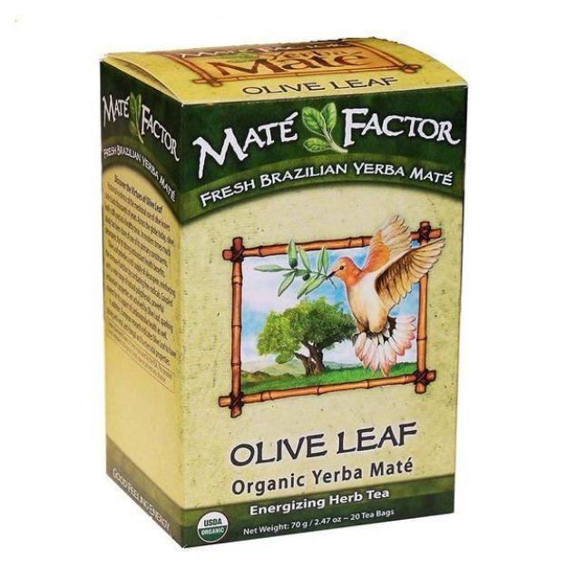 Olive Leaf Organic Tea Bags (Maté Factor)