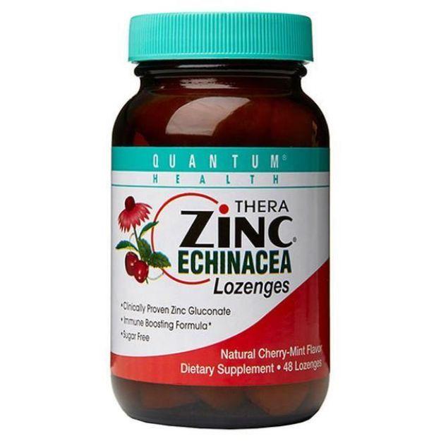 Cold Season Plust Zinc Echinacea Cherry Lozenges (48 count, Quantum Health)