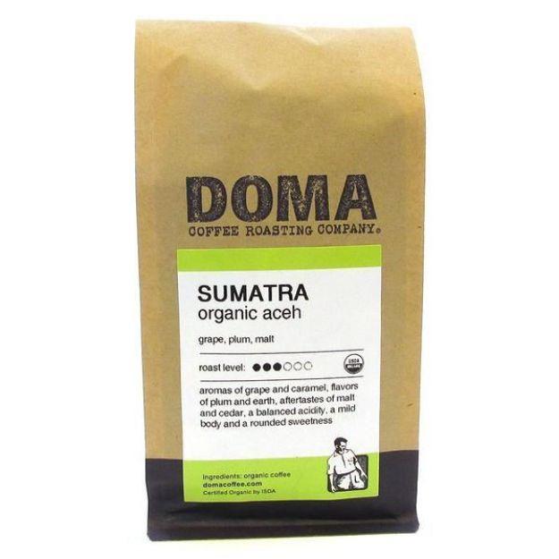 Sumatra Whole Bean Coffee (12 oz., DOMA Coffee Roasting Company)