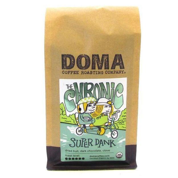 The Chronic Super Dank Blend Whole Bean Coffee (12 oz., DOMA Coffee Roasting Company)