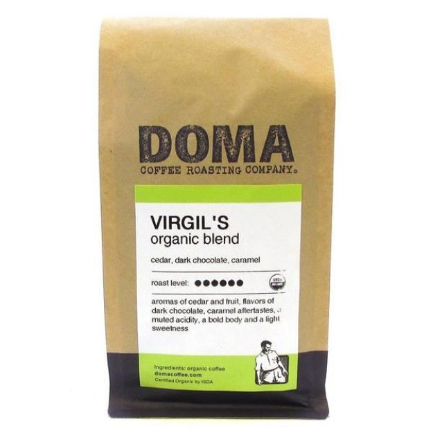 Virgil's Blend Whole Bean Coffee (12 oz., DOMA Coffee Roasting Company)