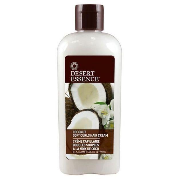 Hair Cream - Soft Curls - Coconut (6.4 fl. oz., Desert Essence)
