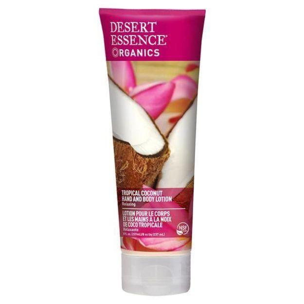 Hand & Body Lotion - Tropical Coconut (8 fl. oz., Desert Essence)