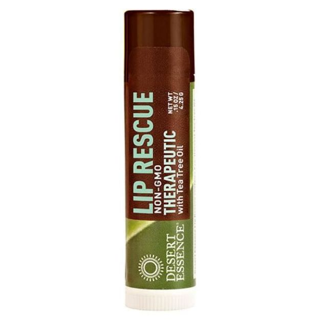 Lip Balm - Therapeutic - Tea Tree Oil (0.15 oz., Desert Essence)