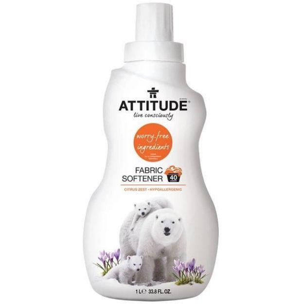 Laundry - Fabric Softener - Citrus Zest (33.8 fl. oz., Attitude)