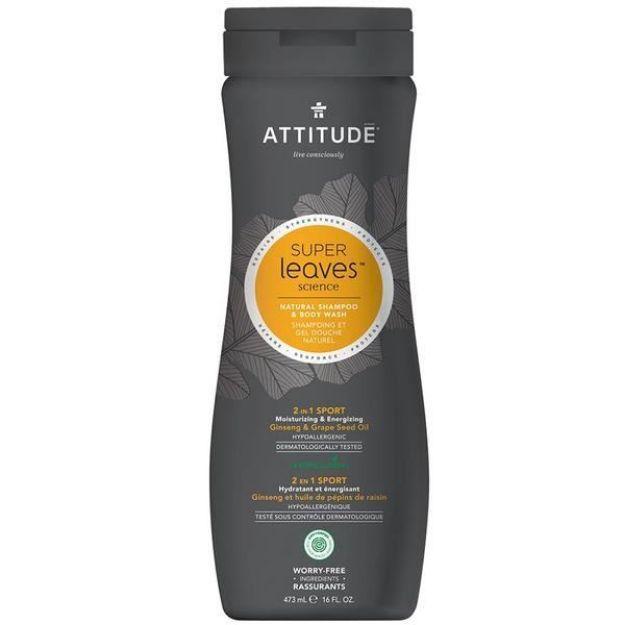 Shampoo & Body Wash - Men's 2-in-1 Sport (16 fl. oz., Attitude)
