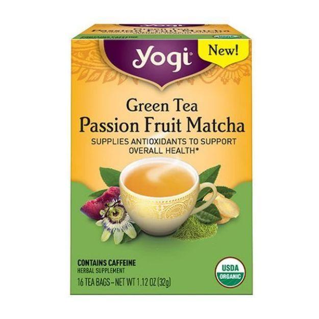 Passion Fruit Matcha Green Tea - Antioxidant  (16 bags, Yogi®)