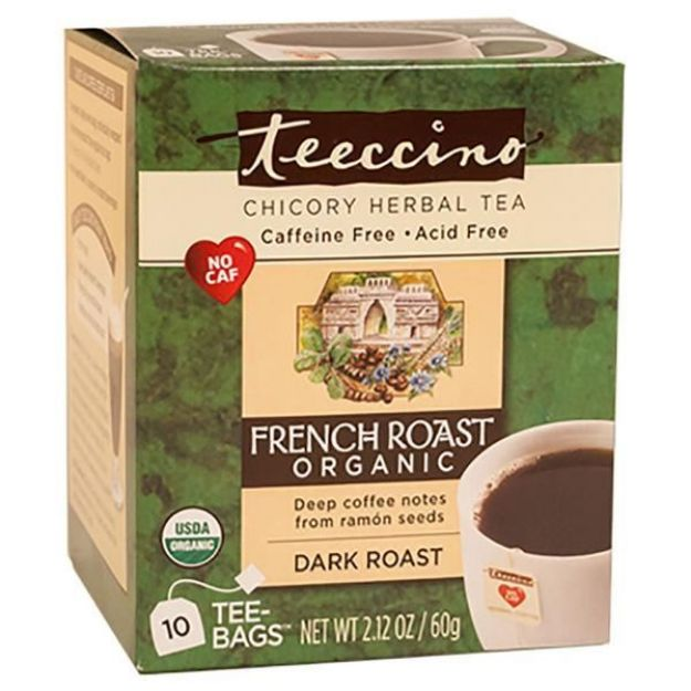 French Roast Chicory Herbal Tea (10 bags, Teeccino)