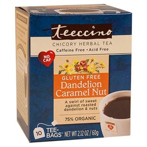 Dandelion Caremel Nut Chicory Herbal Tea (10 bags, Teeccino)